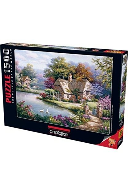 Anatolian Puzzle Kuğular ve Kır Evi / The Swan Cottage Ana.4529 1500 Pcs
