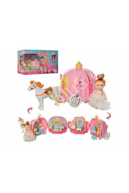 dreamtify Similan Benim Ilk Prenses Arabam Bal Kabağı Evi 44 Parça Barbie Tarzı