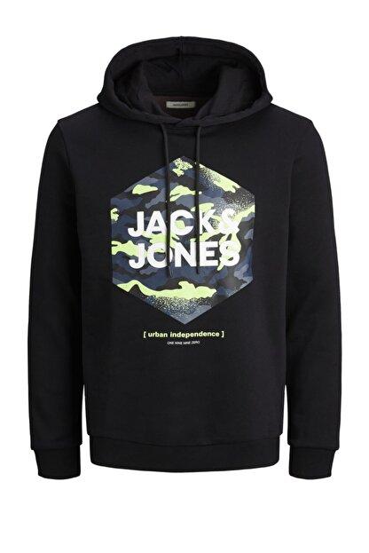 Jack & Jones Kapüşonlu Sweatshirt 12184710 Jjprıme