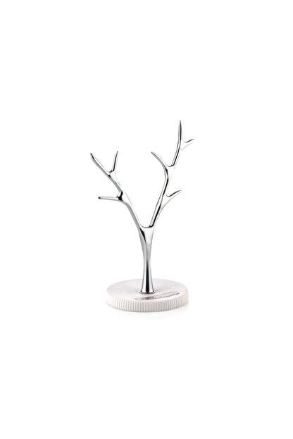 Porio Pr83-1008-beyaz Çizgili Takı Askılığı