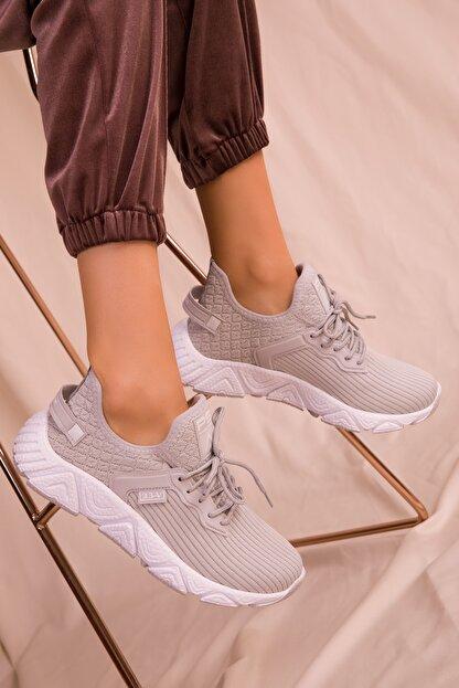 Soho Exclusive Buz Kadın Sneaker 15772