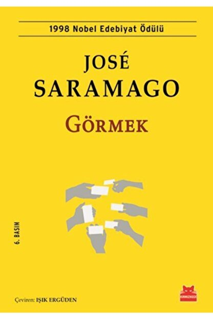 Kırmızı Kedi Yayınları Jose Saramago Görmek 9786052981320 - Jose Saramago