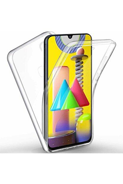 Kılıfreyonum Samsung Galaxy M31 Ön Arka Şeffaf 360 Derece Tam Korumalı Kılıf