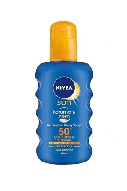Nivea Sun Güneş Koruyucu & Nemlendirici Spray Spf50 200 ml
