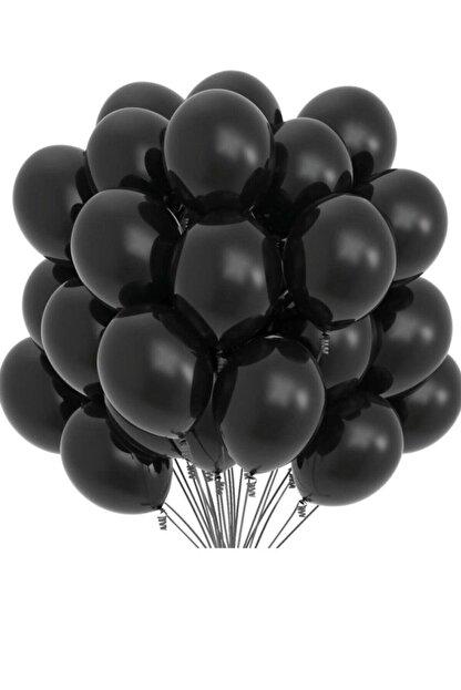 Organizasyon Pazarı Siyah Balon 10'lu