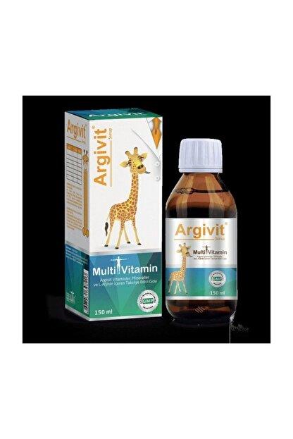 HEKİM İLAÇ Argivit Arjinin Ilaveli Multivitamin Surup 150 ml