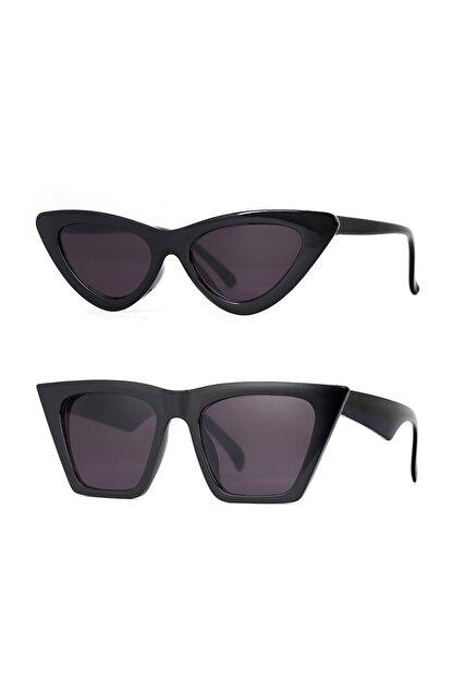 Aqua Di Polo Aynı Butikte 2. Ürün 1 TL 2'li Özel Tasarım Fırsat Seti Kadın Güneş Gözlüğü Stsa000201