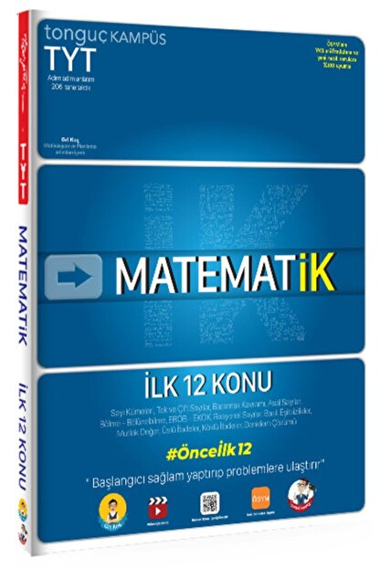 Tonguç Akademi Tyt Matematik Ilk 12 Konu