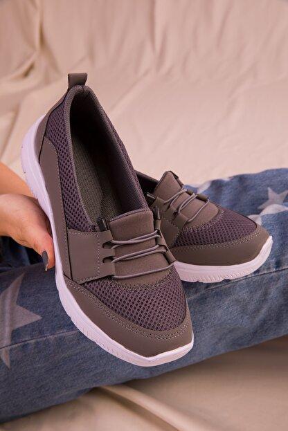 Soho Exclusive Füme Kadın Sneaker 15774