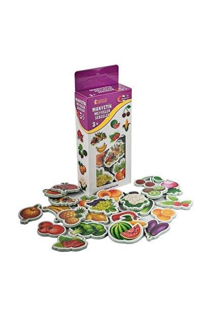 Taba Grup Manyetik Meyve Ve Sebzeler Mıknatıslı 26 Parça