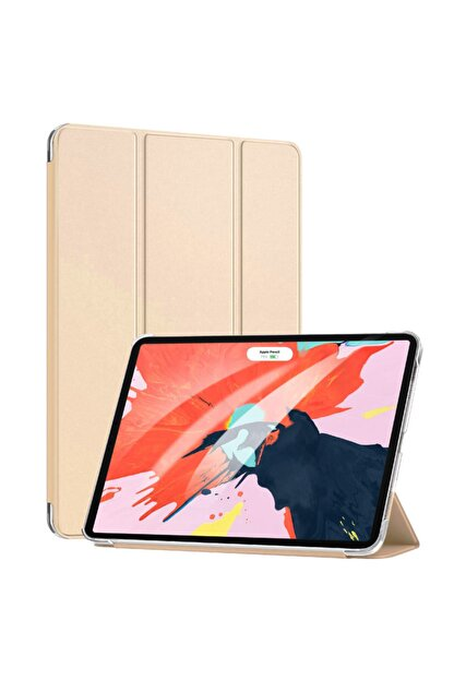 Apple Microsonic Ipad Pro 11'' 2020 2. Nesil Kılıf (a2228-a2068-a2230) Smart Case Ve Arka Kapak Gold