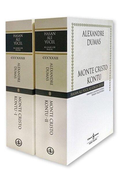 TÜRKİYE İŞ BANKASI KÜLTÜR YAYINLARI Monte Cristo Kontu 2 Cilt Karton Kapak
