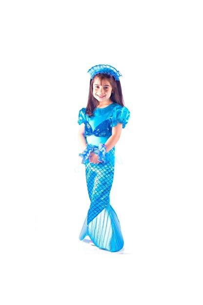 OULABİMİR Deniz Kızı Kostümü Çocuk Kıyafeti