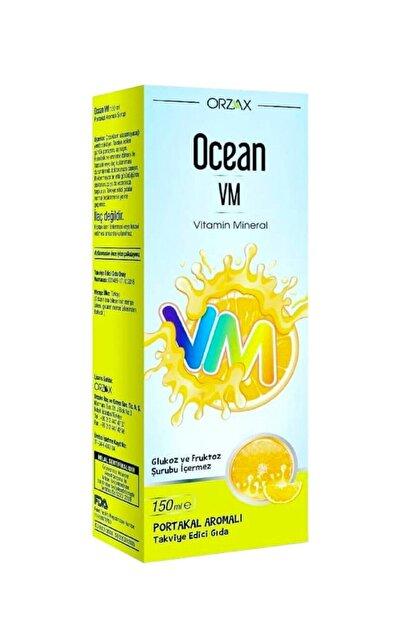 Ocean Vm Şurup Portakal Aromalı 150 ml