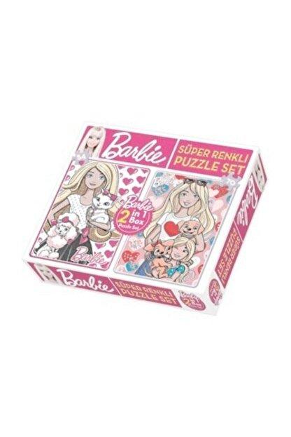 Diytoy Barbie 2 In 1 Puzzle Seti 1542