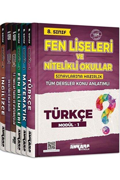 Ankara Yayınları 8. Sınıf Fen Liseleri Tüm Dersler Konu Anlatımlı Modüler Set