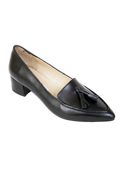 Ustalar Ayakkabı Çanta Siyah Kadın Hakiki Deri Stiletto 364.2017