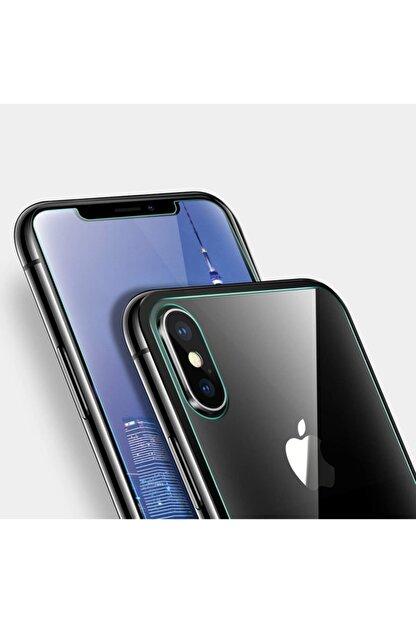 TeknoDuvar Iphone Xs Max Ön Ve Arka Kırılmaz Standart Koruyucu Temperli Cam