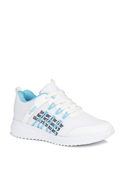 Vicco Active Unisex Çocuk Beyaz Spor Ayakkabı