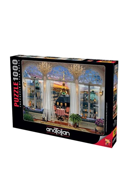 Anatolian Puzzle 1091 Paris Teras Manzarası 1000 Parça Puzzle