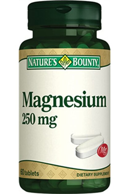 Natures Bounty Nb Magnesium 250 mg 60 Tablet
