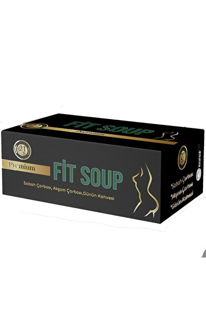 Fit Soup Diyet Çorba 21 Günlük