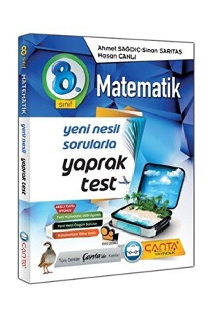 Çanta Yayıncılık Çanta Yayınları 8.sınıf Yaprak Test Matematik