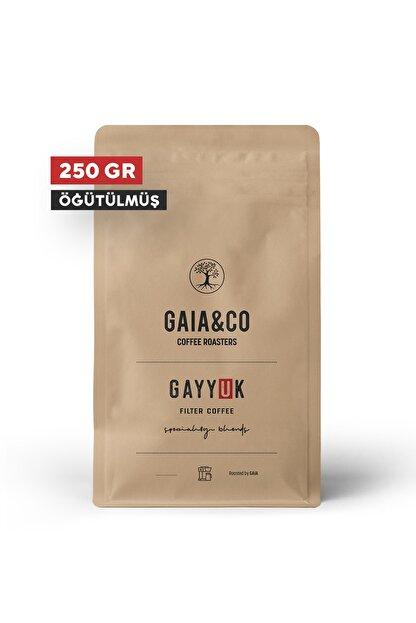 GAIA&CO COFFEE ROASTERS Gayyuk / Specialty Blend | Öğütülmüş Filtre Kahve 250/gr