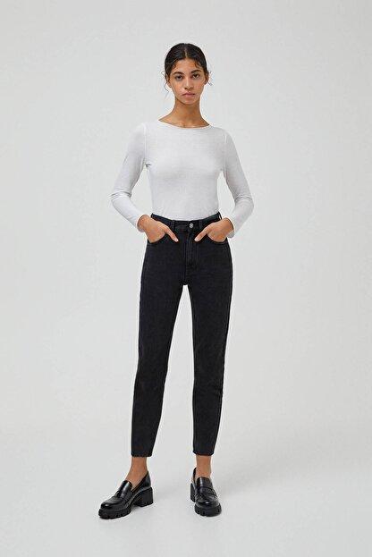 Pull & Bear Mom Fit Basic Jean