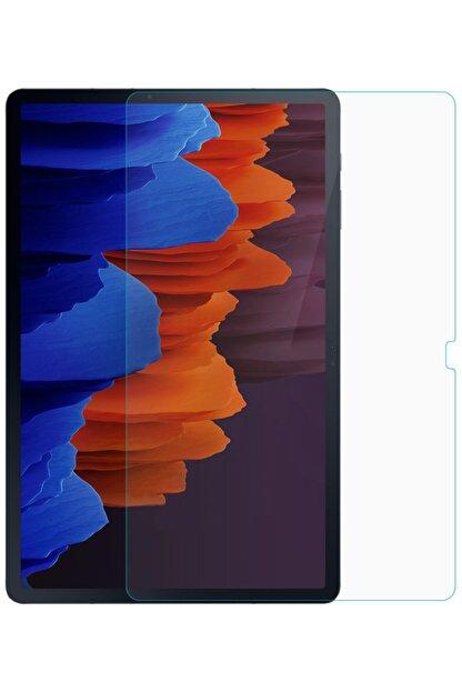 Samsung Galaxy Tab S7 Plus T970 Uyumlu  Nano Kırılmaz Cam Ekran Koruyucu Ince Esnek