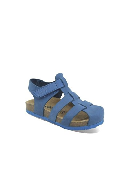 Vicco Çocuk Lacivert Deri Sandalet 905.b20y.080-05