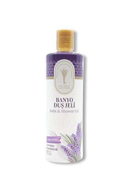 Gallipoli Lavender Lavanta Yağlı Banyo Duş Jeli 400 ml Lavanta Rahatlatıcı Duş Jeli