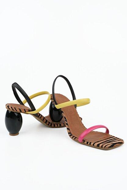 Marjin Kadın Multi 1 Topuklu Sandalet İnvez