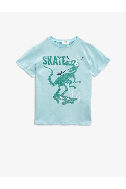 Koton Erkek Çocuk Yeşil T-Shirt