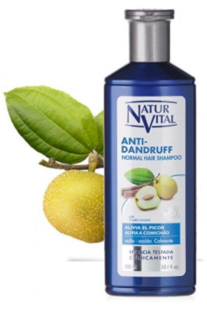 Natur Vital Hair Loss Normal Saçlar Için Kepek Şampuan 300 ml Anti-dandruff