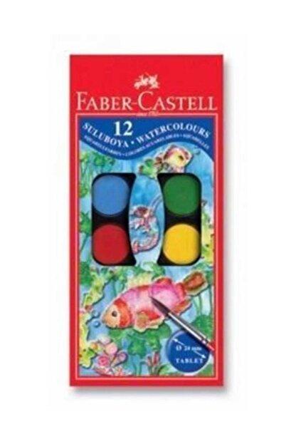 Faber Castell Küçük Hazneli Suluboya 12 Renk