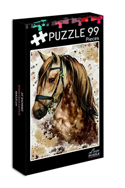 LAÇO KİDS 99 Parça Mini At Puzzle