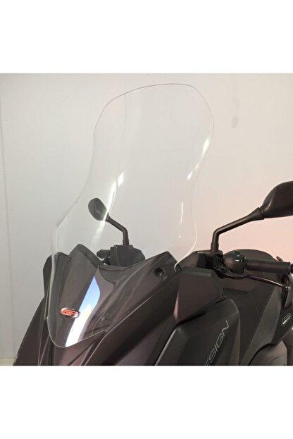 Yamaha X-max Uzun Ön Siperlik Camı