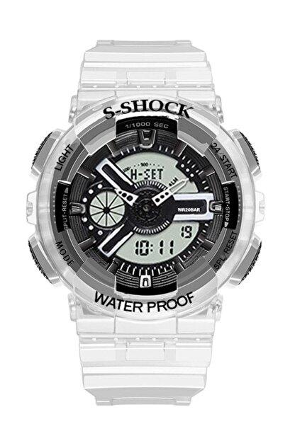 Watchart Marka Analog Dijital S-shock Çocuk Kol Saati Stc00212