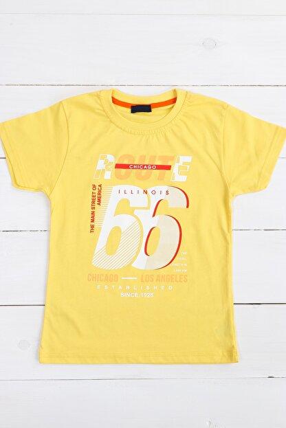 Petit Capitaine Erkek Çocuk Tişört Sarı-0051894-009-116 Cm
