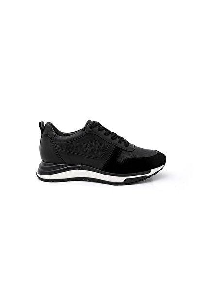 BluFENIX Kadın Siyah Düz Taban Sneaker