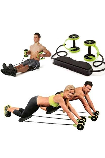 KapınaKadar Multiflex Pro Tekerlekli Egzersiz Spor Aleti Mekik Sehpası Fluss 5 Fonksiyonlu Pilates Fitness Aleti
