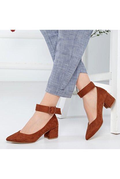 Rns Kadın Kahverengi Topuklu Ayakkabı