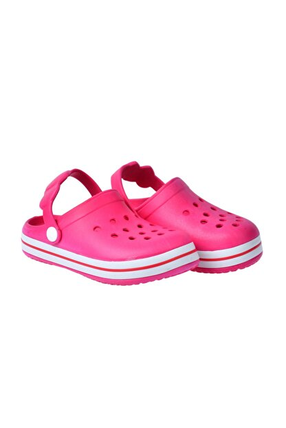 Kiko Kids Kız/erkek Çocuk Pembe Sandalet Terlik  Kiko Akn E196.46