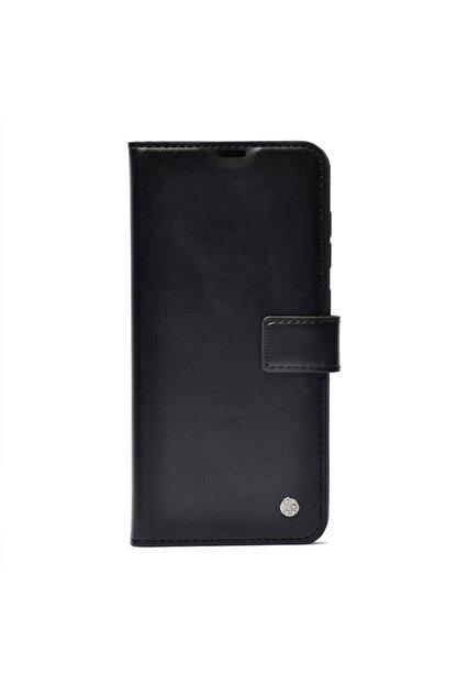 Mobilteam Oppo A5 2020 Kılıf Kapaklı Pocketdelux - Siyah