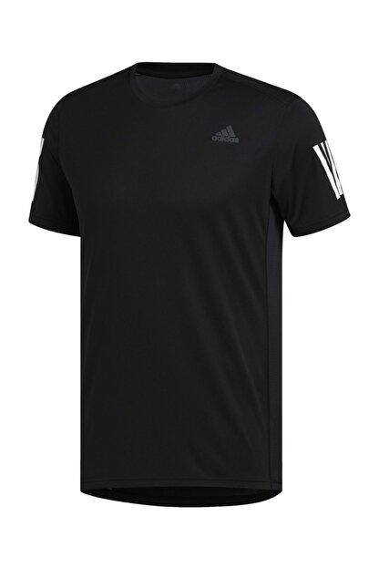 adidas OWN THE RUN TEE Siyah Erkek T-Shirt 100479654