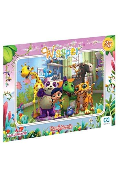 CA Games Wissper - Frame Puzzle 2 - Pembe (35 Parça)