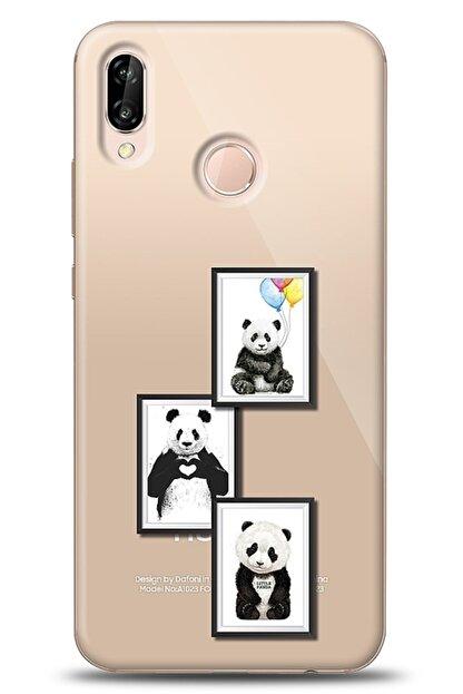 Eiroo Huawei P20 Lite Panda Frame Kılıf