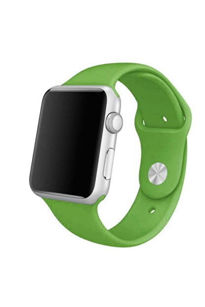 Ekoodukkan Apple Watch 2 3 4 5 - 42 - 44 mm Silikon Kordon Kayış