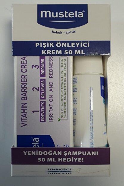 Mustela Pişik Önleyici Krem 50ml + Yeni Doğan Şampuanı 50 Ml
